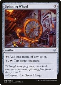 Spinning Wheel, Magic, Throne of Eldraine