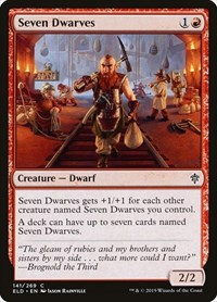 Seven Dwarves, Magic: The Gathering, Throne of Eldraine