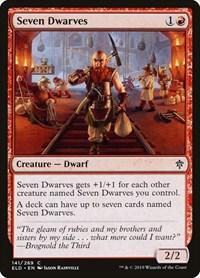 Seven Dwarves, Magic, Throne of Eldraine