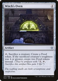 Witch's Oven, Magic: The Gathering, Throne of Eldraine