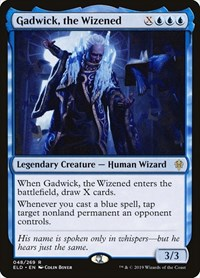 Gadwick, the Wizened, Magic: The Gathering, Throne of Eldraine