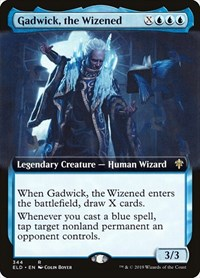 Gadwick, the Wizened (Extended Art), Magic: The Gathering, Throne of Eldraine