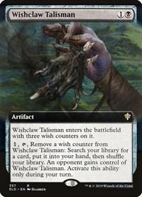 Wishclaw Talisman (Extended Art), Magic: The Gathering, Throne of Eldraine