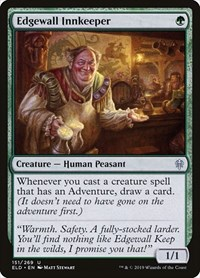 Edgewall Innkeeper, Magic, Throne of Eldraine