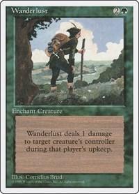 Wanderlust, Magic: The Gathering, Fourth Edition