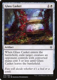 Glass Casket, Magic: The Gathering, Throne of Eldraine