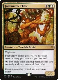Faeburrow Elder, Magic: The Gathering, Throne of Eldraine