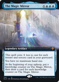 The Magic Mirror (Extended Art), Magic: The Gathering, Throne of Eldraine