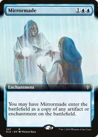 Mirrormade (Extended Art), Magic: The Gathering, Throne of Eldraine