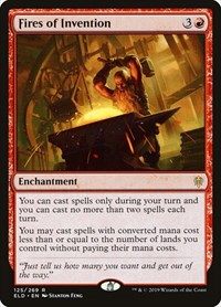 Fires of Invention, Magic: The Gathering, Throne of Eldraine