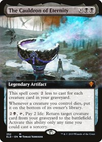 The Cauldron of Eternity (Extended Art), Magic: The Gathering, Throne of Eldraine