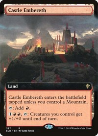 Castle Embereth (Extended Art), Magic: The Gathering, Throne of Eldraine
