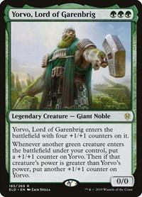 Yorvo, Lord of Garenbrig, Magic: The Gathering, Throne of Eldraine