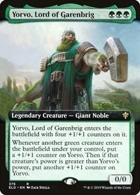 Yorvo, Lord of Garenbrig (Extended Art), Magic: The Gathering, Throne of Eldraine