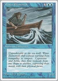 Water Elemental, Magic, Fourth Edition