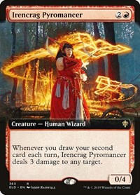 Irencrag Pyromancer (Extended Art), Magic: The Gathering, Throne of Eldraine