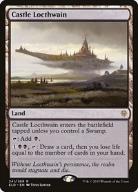 Castle Locthwain, Magic: The Gathering, Throne of Eldraine