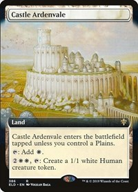Castle Ardenvale (Extended Art), Magic: The Gathering, Throne of Eldraine