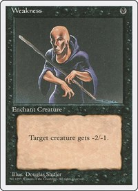 Weakness, Magic: The Gathering, Fourth Edition