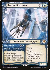 Brazen Borrower (Showcase), Magic: The Gathering, Throne of Eldraine
