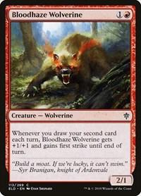 Bloodhaze Wolverine, Magic, Throne of Eldraine