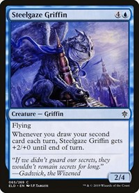 Steelgaze Griffin, Magic: The Gathering, Throne of Eldraine