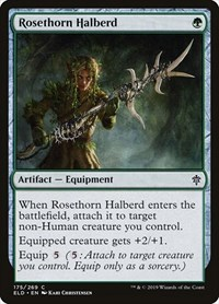 Rosethorn Halberd, Magic, Throne of Eldraine