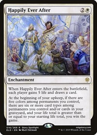Happily Ever After, Magic: The Gathering, Throne of Eldraine