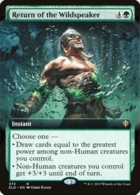 Return of the Wildspeaker (Extended Art) (Foil)