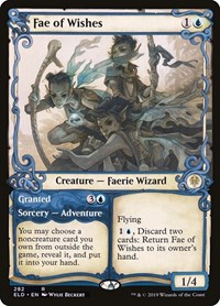 Fae of Wishes (Showcase), Magic: The Gathering, Throne of Eldraine