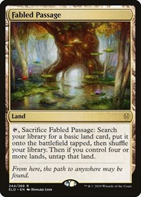 Fabled Passage, Magic: The Gathering, Throne of Eldraine