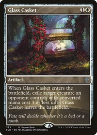 Glass Casket, Magic: The Gathering, Promo Pack: Throne of Eldraine