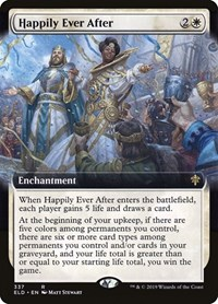 Happily Ever After (Extended Art), Magic: The Gathering, Throne of Eldraine