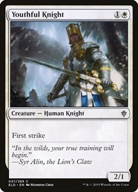 Youthful Knight, Magic: The Gathering, Throne of Eldraine