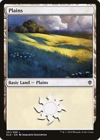 Plains (251), Magic: The Gathering, Throne of Eldraine