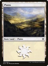 Plains (252), Magic: The Gathering, Throne of Eldraine