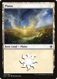 Plains (253), Magic: The Gathering, Throne of Eldraine