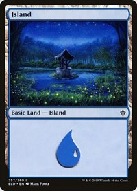 Island (257), Magic: The Gathering, Throne of Eldraine