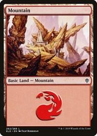Mountain, Magic: The Gathering, Throne of Eldraine