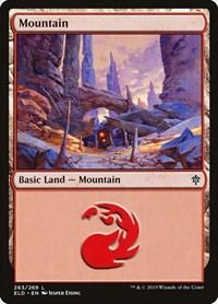 Mountain (263), Magic: The Gathering, Throne of Eldraine