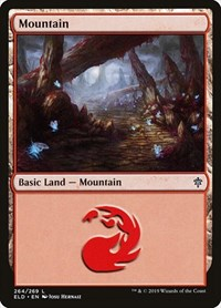 Mountain (264), Magic: The Gathering, Throne of Eldraine