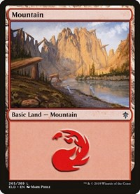 Mountain (265), Magic: The Gathering, Throne of Eldraine