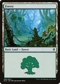 Forest, Magic: The Gathering, Throne of Eldraine