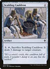 Scalding Cauldron, Magic, Throne of Eldraine
