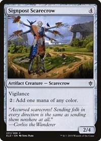 Signpost Scarecrow, Magic, Throne of Eldraine