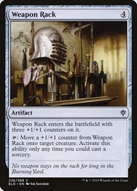 Weapon Rack, Magic: The Gathering, Throne of Eldraine