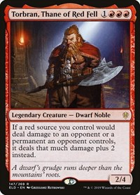 Torbran, Thane of Red Fell, Magic: The Gathering, Throne of Eldraine