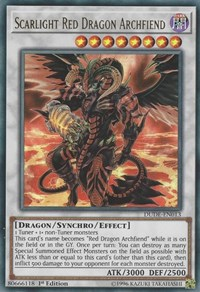Scarlight Red Dragon Archfiend, YuGiOh, Duel Devastator