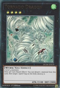 Tornado Dragon, YuGiOh, Duel Devastator