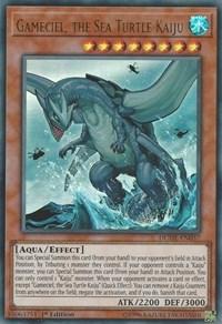 Gameciel, the Sea Turtle Kaiju, YuGiOh, Duel Devastator